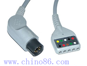 din five ecg trunk cable