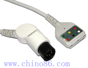 din ecg trunk cable