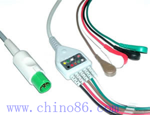 hellige five ecg cable leadwire