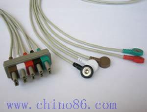 hp patient monitor ecg leadwire 5