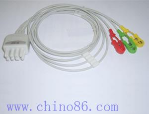 nihon kohden br 903p 3 patient monitor ecg leadwire