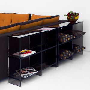 acrylic shelf magazine