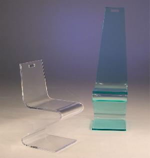 acrylic z chair