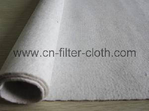 dust collector polyester anti static needle punched filter felt cloth