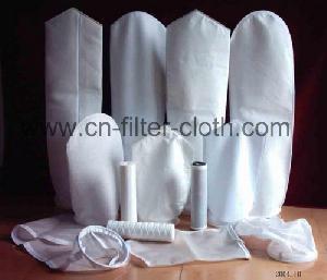 manufacture needle felt non woven cloth filter bag