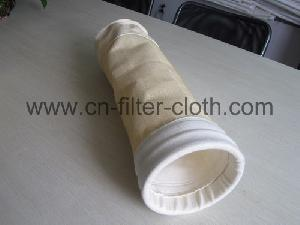 non woven needle felt dust collector filter bag