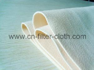 non woven pps water repellent needle punched filter felt cloth