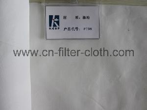 polyester fiber filter cloth non woven fabric