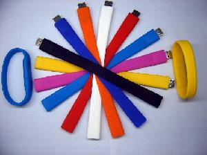 silicone wristband usb flash driver