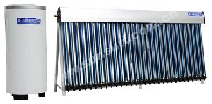 solar collector balcony system