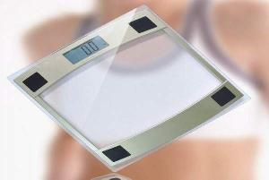 glass bathroom scale le 109