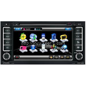 7 hd screen car dvd touareg built gps bt tv ipod fm rds bus