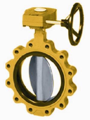lug centric butterfly valve