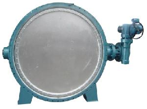 triple offset flange butterfly valve