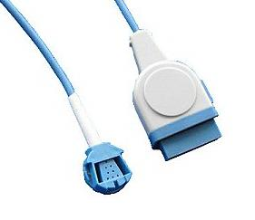 ge ohmeda spo2 extension cable 11pin male 8j female