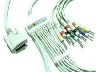 nihon kohden cardiofax 6151 ecg cable ronseda electronics