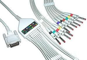 philips m3703c ecg cable ronseda 10 leads