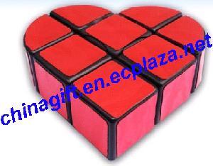 love heart rubik s cube