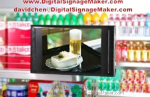 7 lcd advertising player display digital signage