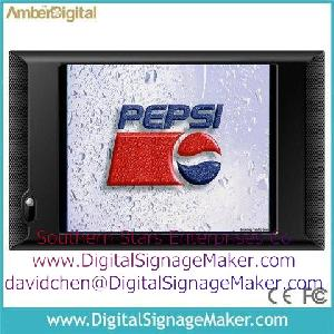 lcd monitor pop pos advertising display store digital signage