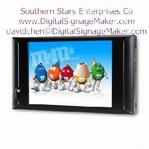 lcd usb display monitor store advertising player digital signage pos d