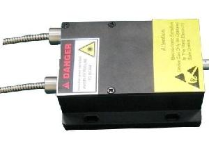 2 channel 671nm fiber coupled diode laser
