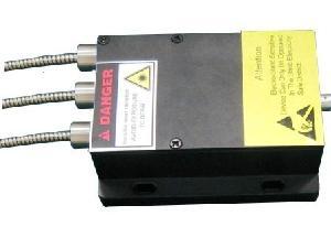 375nm tri 3 channel fiber coupled laser system