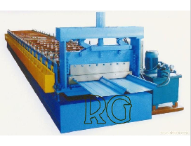 waved layer roll forming machine