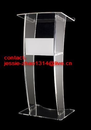 acrylic lecterns plexiglass podiums lucite pulpits