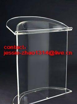 plexiglass podium