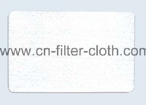 water oil repellent needle punched felt filter cloth