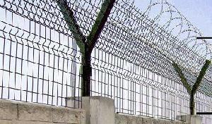 razor barbed wire welded mesh