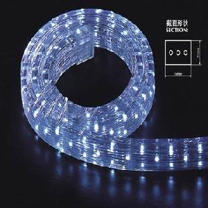 3 wire flat led rope light