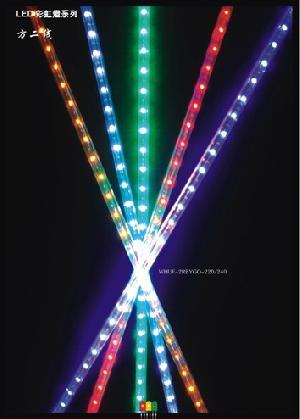 36 leds flat 2 wire led rope light