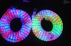 Flat wire rgb led rope light page 1 products photo catalog rgb 3 wire flat led rope light aloadofball Images
