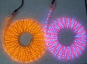 rope light reel multi colored led 100m
