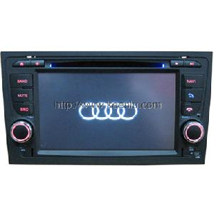 7 hd screen car dvd audi a4 built gps bt tv ipod fm rds bus