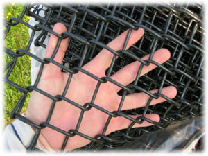 1 chain link fence