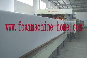 flexible foam machine