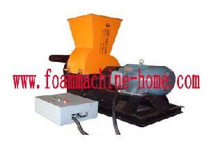 flexible foam shredder