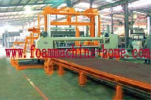 horizontal foam splitting machine