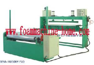 foam sheet jointing machine rewinding