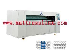 pocket spring netting machine