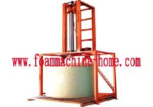 verticle foam drill machine
