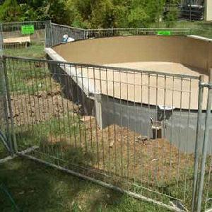 temporary fence panel assemble