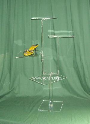 4 shoe display stand