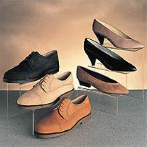 acrylic shoe step units