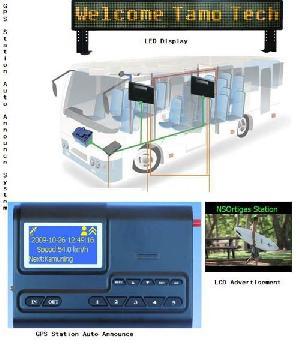 transport gps auto announce bus train metro
