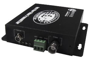 fiber optic digital video transceiver