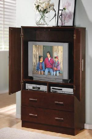 abf 005 tv armoire cabinet bedroom teak mahogany wooden indoor furniture solid